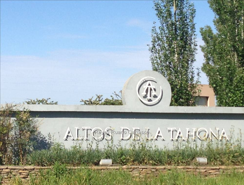 terreno venta barrio privado altos de la tahona