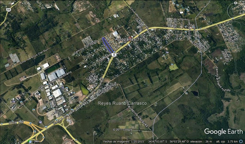 terreno venta ruta 8  a un km de zona américa