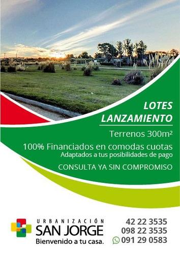 terrenos 100% financiados a pura cuota hasta en 12 años!!!!