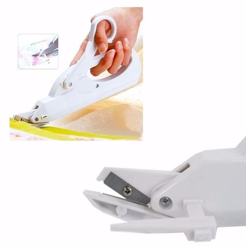 tesoura eletrica papel tecido ferramenta corte pilha prático