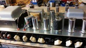 testeo completo de válvulas para equipos de guitarra o bajo.