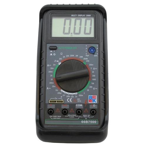 tester digital bk 66b7500 - baiz!