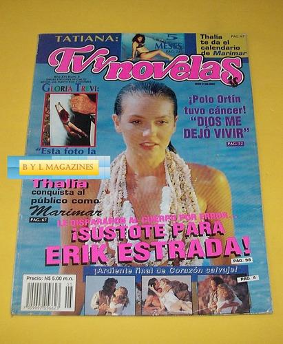 thalia yuri revista tv y novelas gloria 1994 trevi