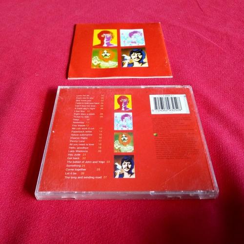 the beatles 1 27 no. 1 singles on 1 cd (no vinilo cassette)