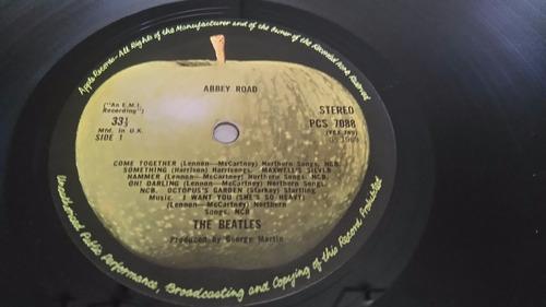 the beatles  abbey road primera edicion 1969 uk!