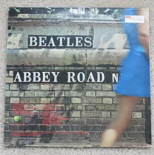 the beatles abbey road vinilo picture disc disponible!