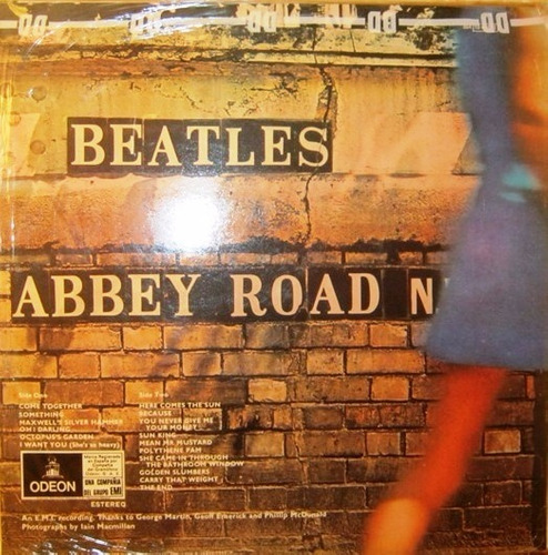 the beatles abbey road vinilo rock emi odeon 064-1042431
