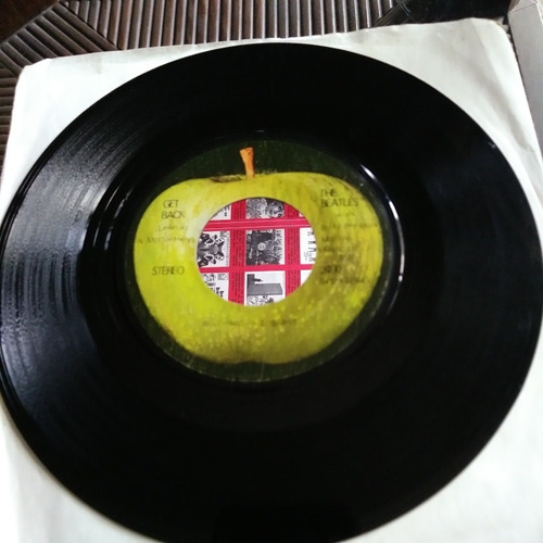 the beatles don't let me down, get back disco simple 1 ed uk