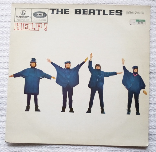 the beatles - help! ( l p ed. europea u k 1984)