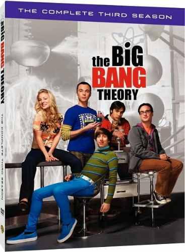 the big bang theory (serie de tv) - 3ra temporada - zona 1.