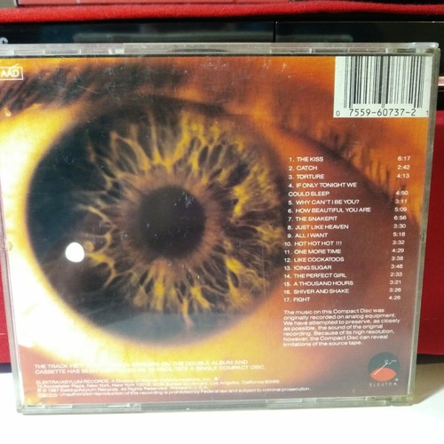 the cure (no the cult rolling stones) kiss me cd 1ra ed. usa