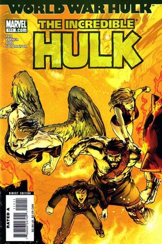 the incredible hulk #111 - pak - parker - kirk - inglés
