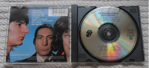 the rolling stones - black and blue ( c d ed. u s a)
