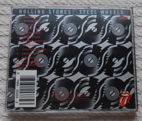 the rolling stones - steel wheels (edición u s a)