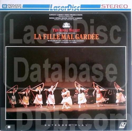 the royal ballet la fille mal gardee laserdisc envio gratis