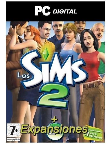 the sims 2 + todas sus expansiones español / pc digital