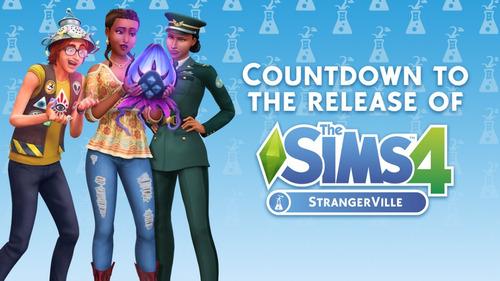 the sims 4 rumbo a la fama pc + update strangerville