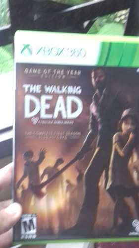 the walkind dead xbox360
