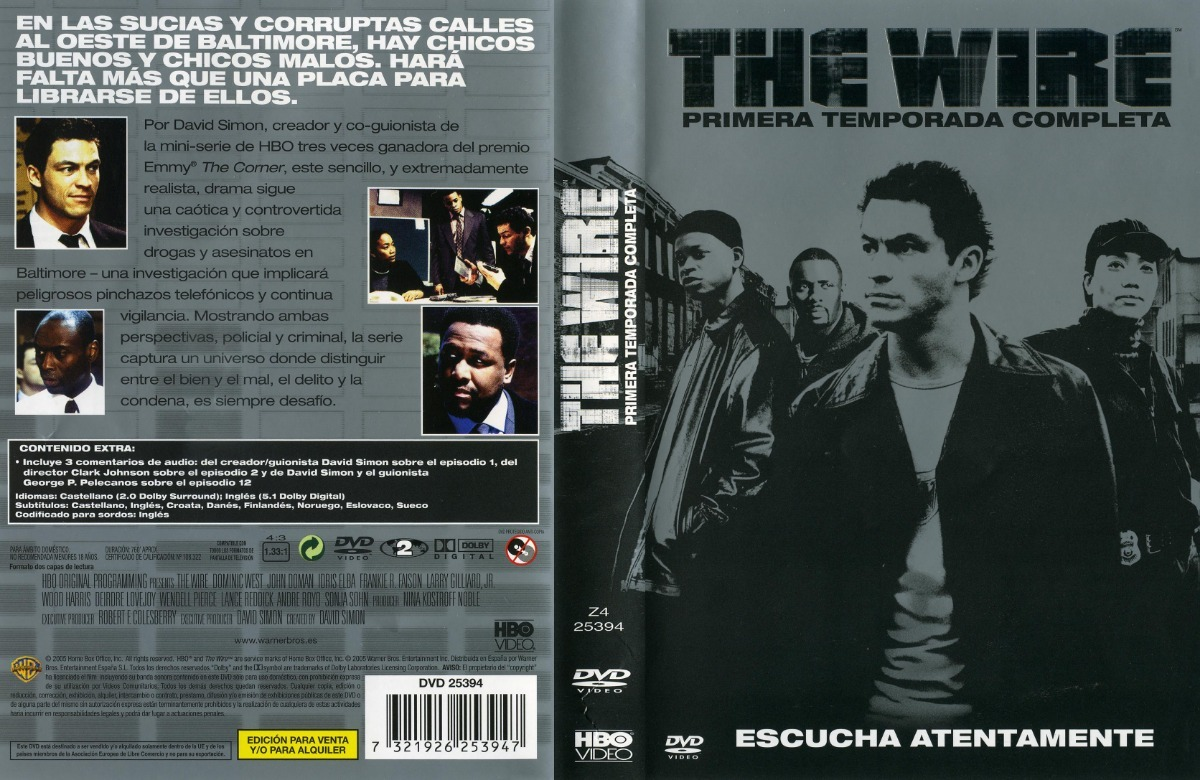 The Wire Temporada 1 2 3 4 Y 5 En Dvd