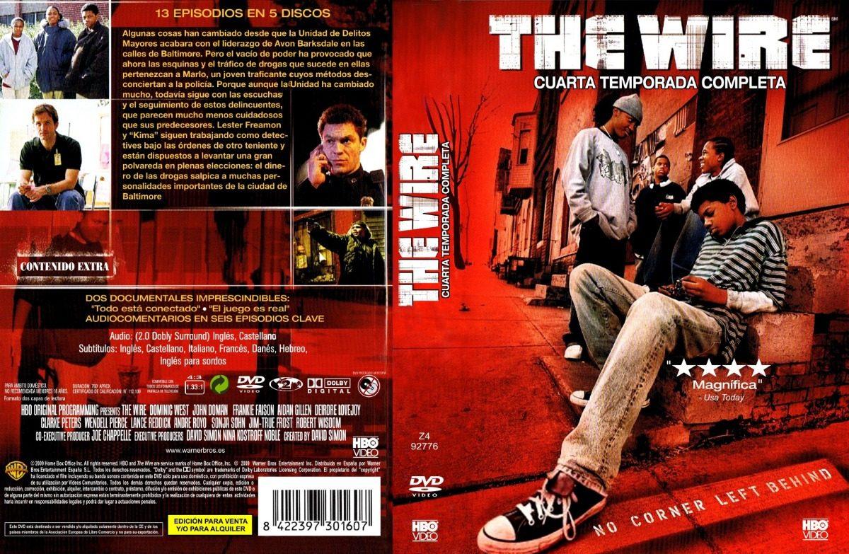 The Wire Temporada 1 2 3 4 Y 5 En Dvd