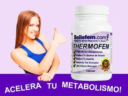 thermofem pastillas adelgazantes quema grasa adelgaza