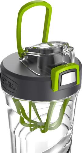 thermos shaker bottle con mezclador estacionario integrad