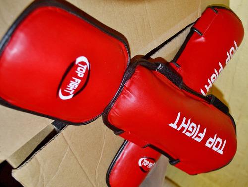 tibiales con empeineras top fight - ver talles y colores