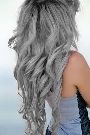 Fotos de color de cabello gris