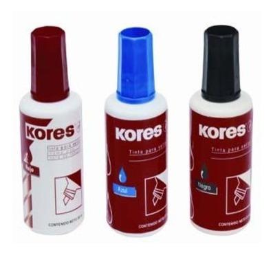 tinta para sellos kores, rojo - of