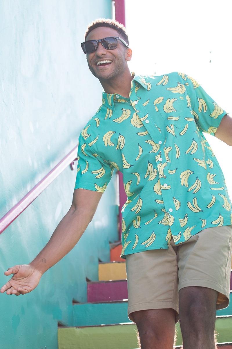 960bc736 Tipsy Elves The Havana Banana Hawaiian Shirt: X-large - U$S 75,00 en ...