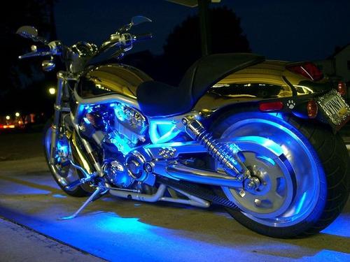 tira leds 30cm x 15 leds auto moto decorativa tuning 12 v