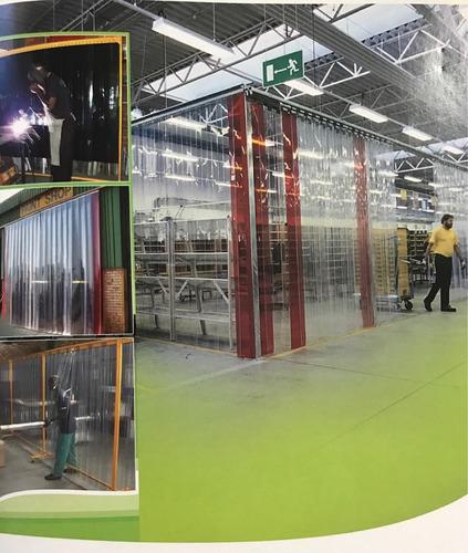tiras pvc -cortinas flexibles por metro, rollo o instaladas