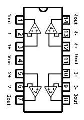 Tl074 Amplificador Operacional Cuadruple