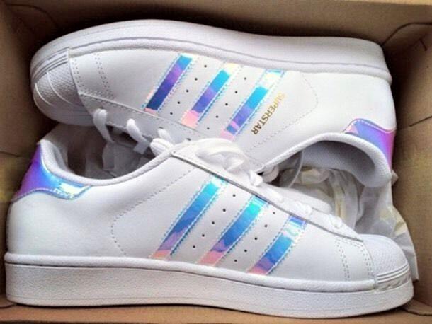 Tênis adidas Superstar R Holográfico Holográfico Feminino 15425 2018