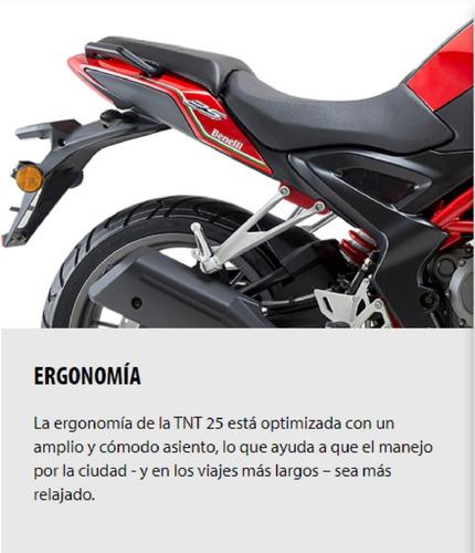 tnt25 naked motos benelli