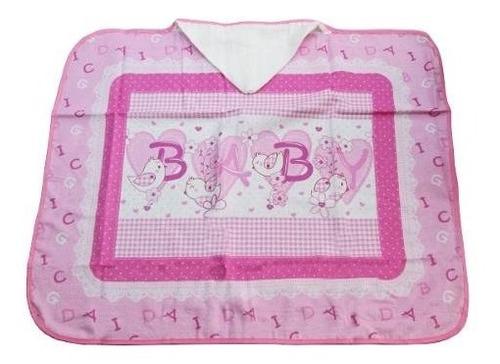 toalla de baño bebé con capucha - rc sueños