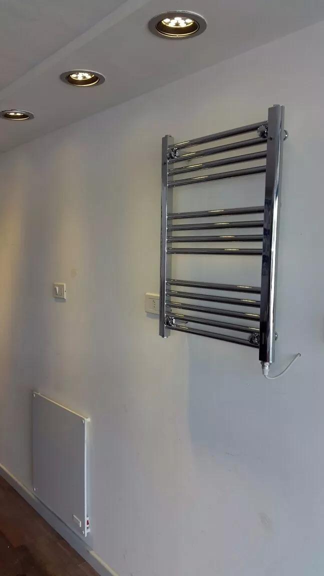 Toallero Calefactor Eléctrico Para Baño De Bajo Consumo ...