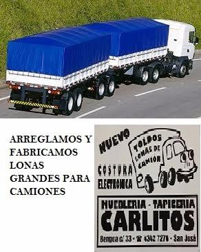 toldos cerramientos de pvc lona de camión trailers