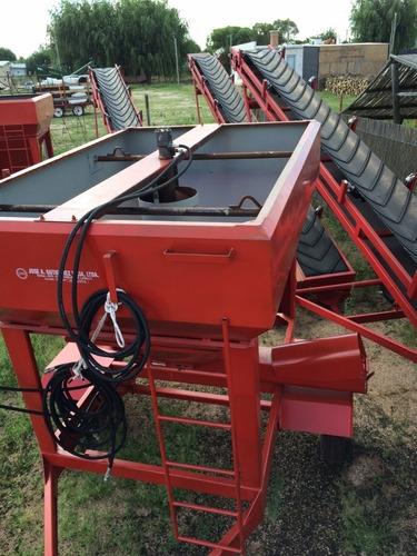 tolva dosificadora de grano humedo o seco capacidad 1700kg