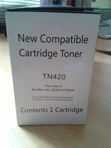 toner 100% nuevo para brother hl 2140 tn360
