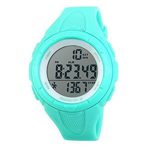 4edf65f3e6fe Topcabin Niños Impermeable Reloj Deportivo Step Gauge Reloj - U S 53 ...