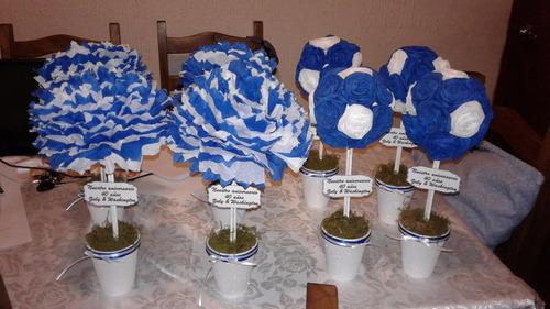 topiarios con papel