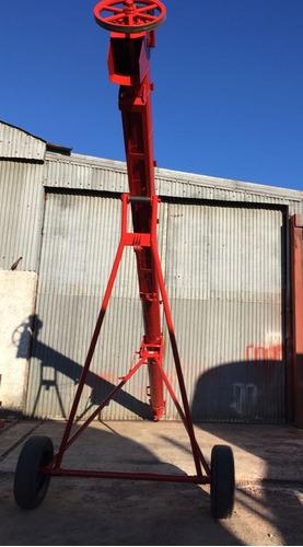 tornillo elevador de grano, chimango motor electrico