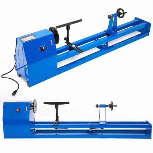 torno industrial eléctrico madera 1/2hp 350mm 4 velocidades