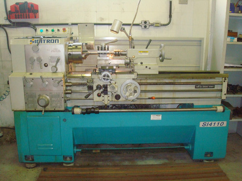 torno mecanico sinitron 1100mm x 400mm - 2010