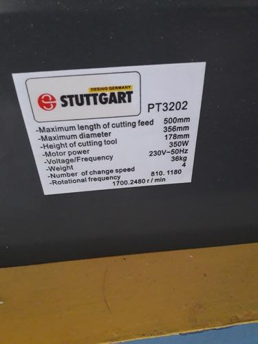 torno para madera stuttgart (germany) de 50 cm entrepunto.