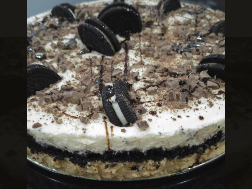 Torta Oreo Dulce De Leche Merengue Chantilly Galletas Oreo