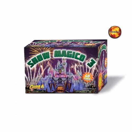 torta show magico 3... fuegos artificiales
