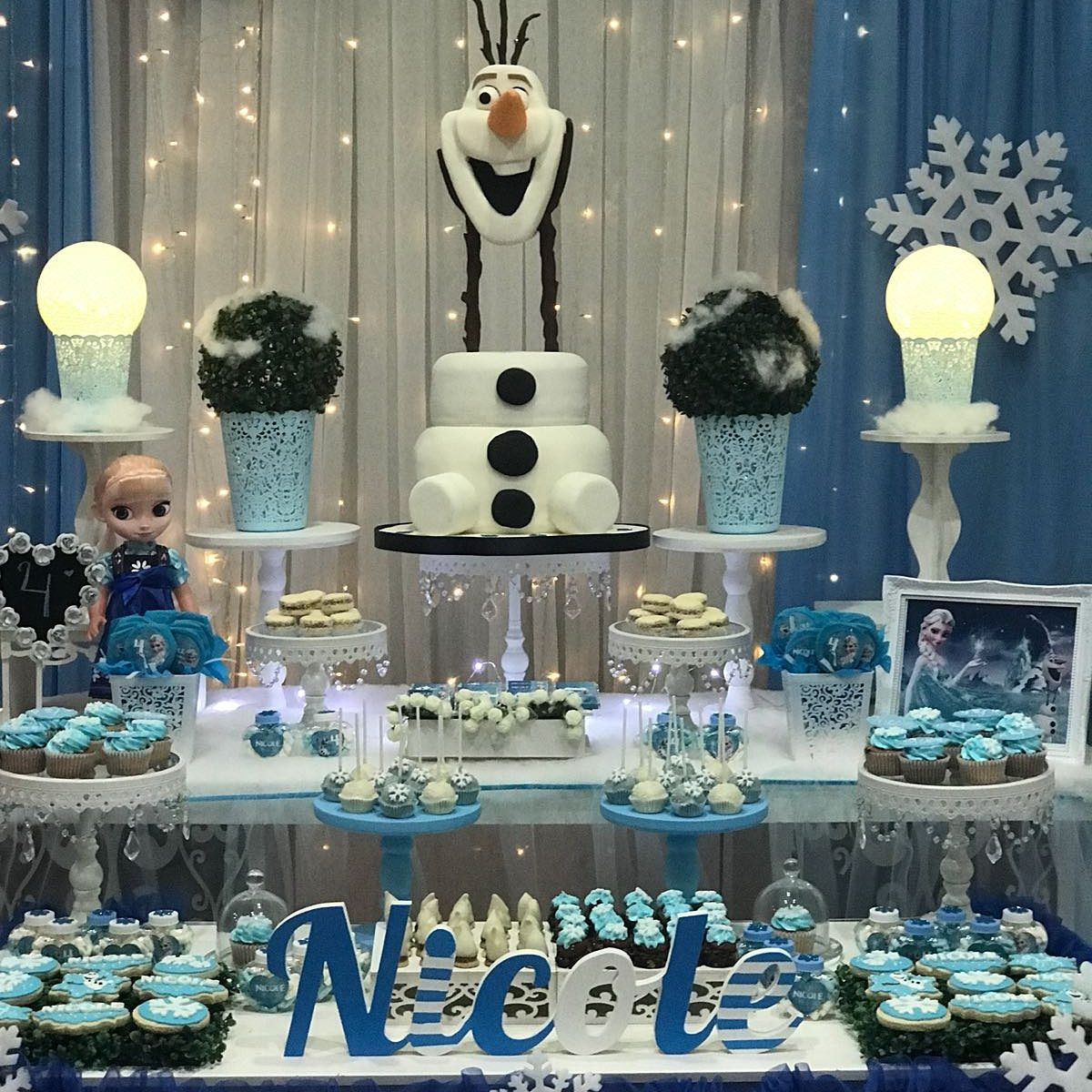 Tortas Cumpleanos Infantil Frozen Mesas Dulces 15 Anos 55000 - Mesas-dulces