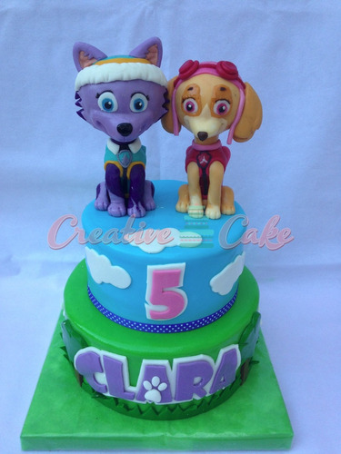 tortas niños patrulla canina, paw patrol